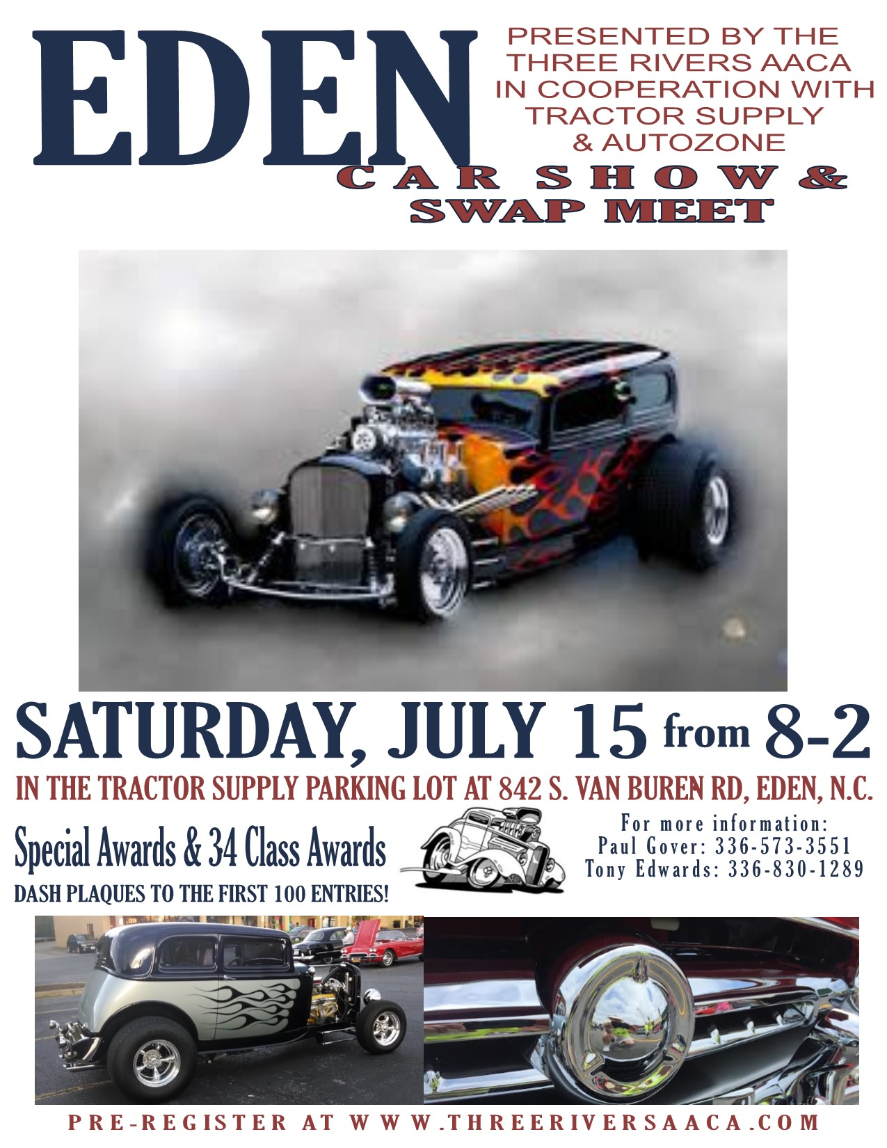 Eden Car Show & Swap Meet 2017